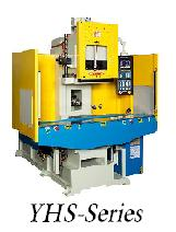 C frame vertical injection molding machines